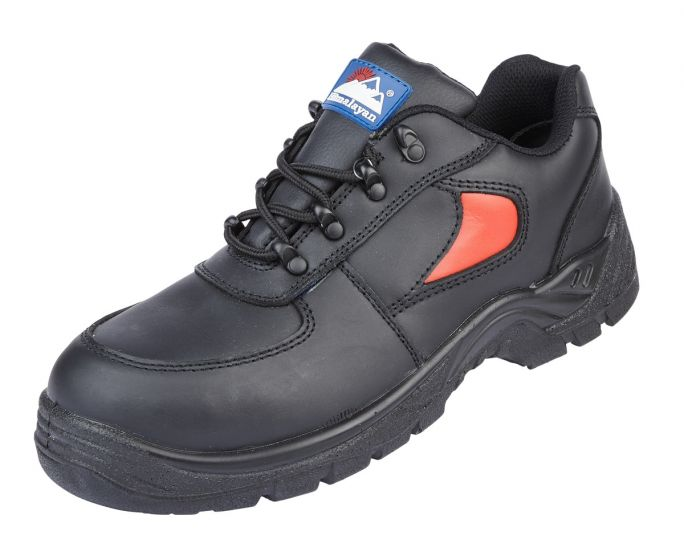 3413 Toesavers Black Safety Trainers