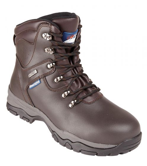 5201 Brown Himalayan Waterproof safety boot