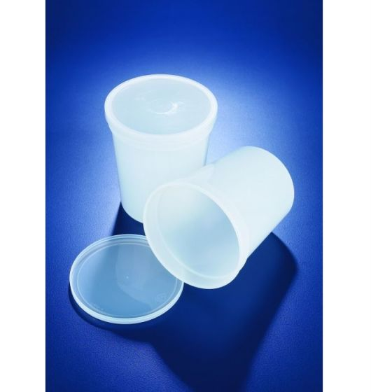 Azlon Polypropylene Snap on Lid Containers