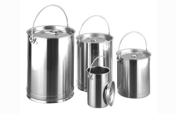 316L Grade Stainless Steel Storage Container with Lid