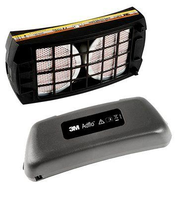 Gas Filter A1B1E1 Kit with Heavy-duty Li-ion Battery for Adflo Powered Air Respirator