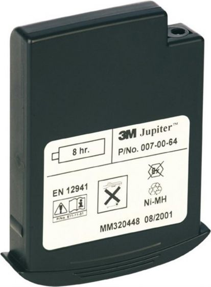 Jupiter 4 hour battery - 3 pin Pack of 1-0070063P-Camlab