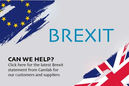 Brexit Statement Camlab Industrial Scientific Supplies