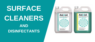 Surface cleaners and Disinfectants